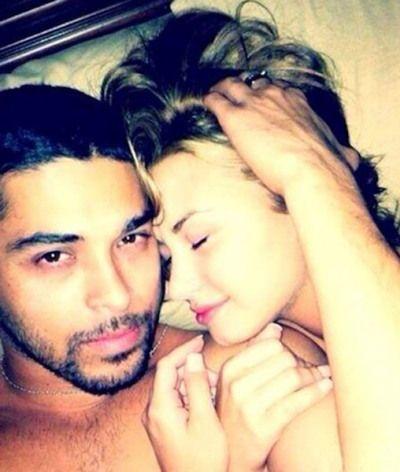 wilmer nude lovato Demi leaked