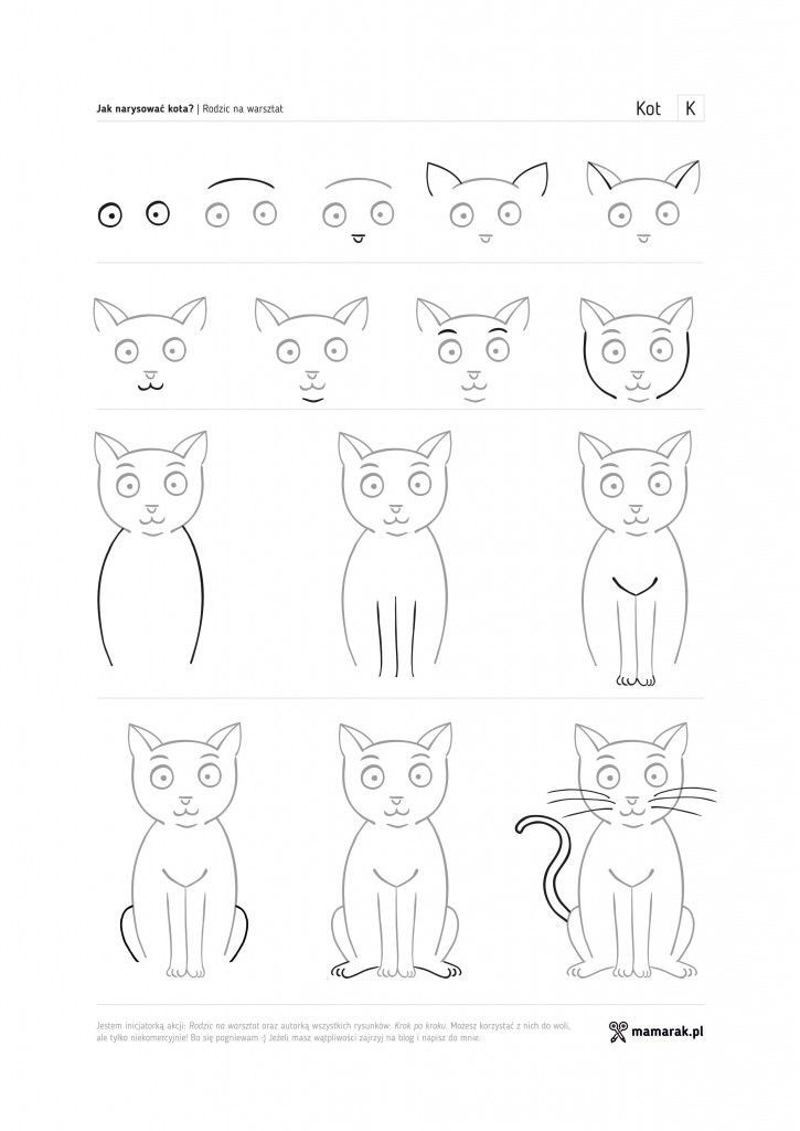 how to draw a cat ms katz and tush or papa piccolo trevor and i