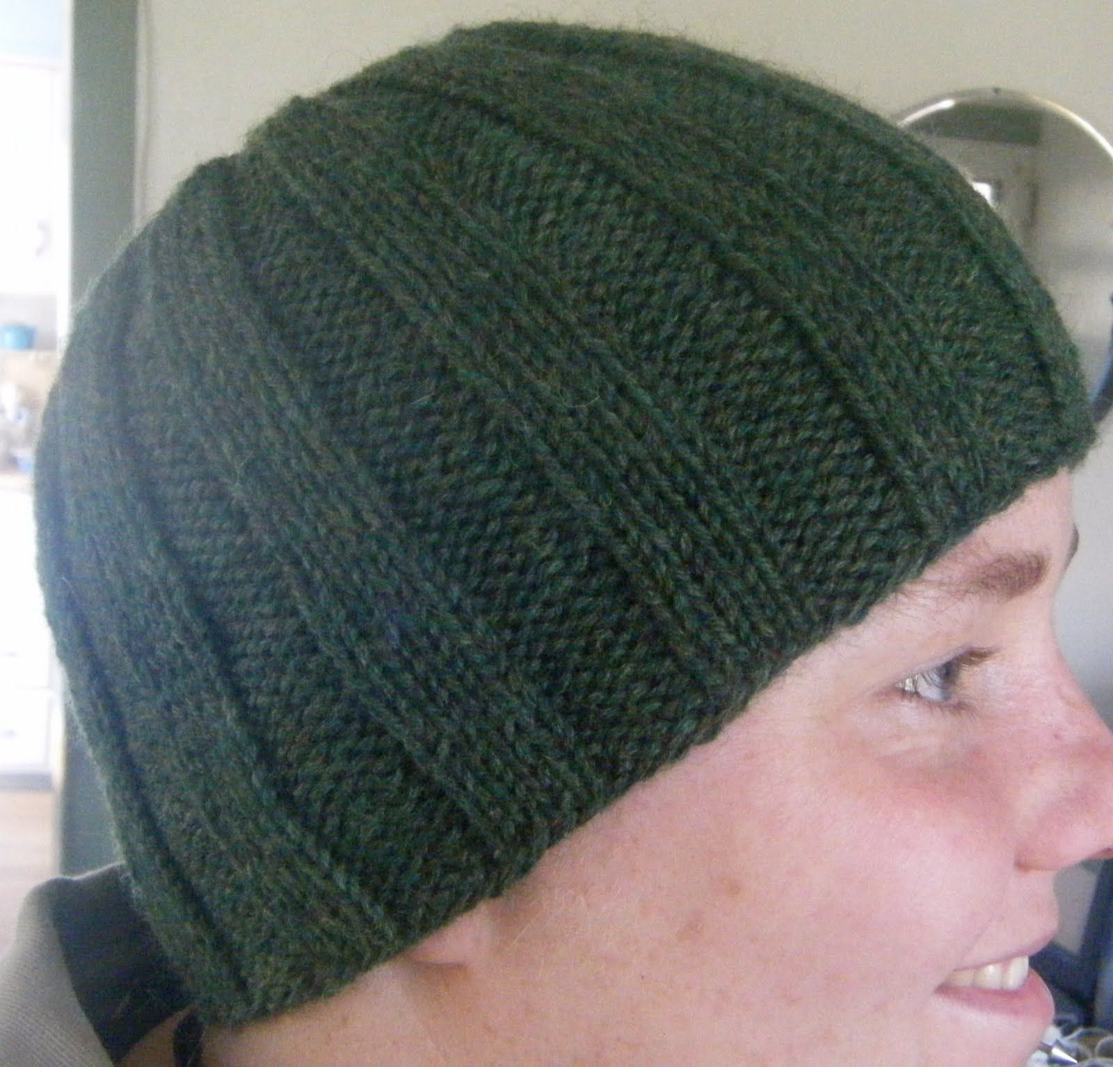 For jacom colour crafty things to do pinterest beanie here is an easy little pattern i cranked out when my husband needed a new hat feel free to give it a whirl ribbed cap size o bankloansurffo Choice Image