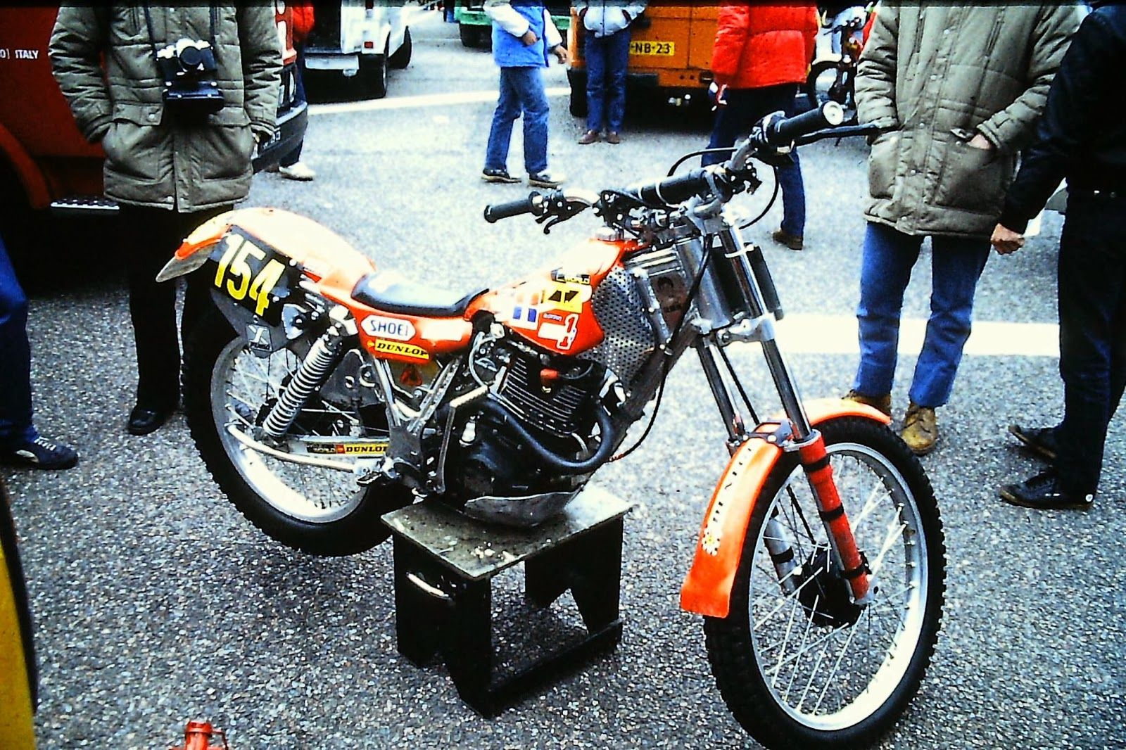 From 1980 To 85 The Honda Trials History Motorcycles Pinterest