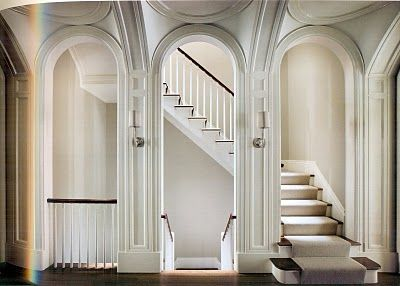 The arched entrance to the stairs.  Beautiful.