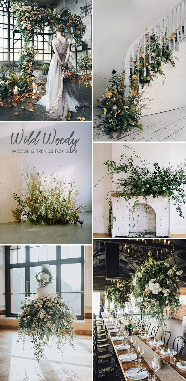 Wedding decorations 2019   Trending Floral Greenery Wedding Ideas for   Future Wedding