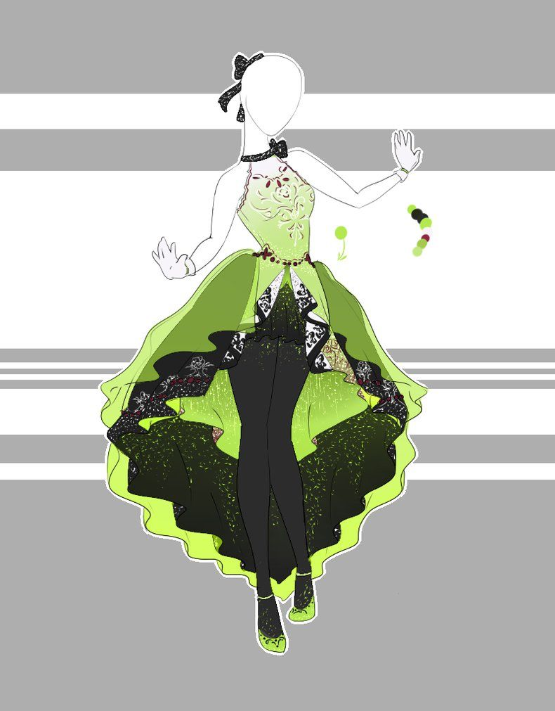 Decorative Infused Olive Oil: .::Outfit Adoptable 36(CLOSED)::. By Scarlett-Knight On