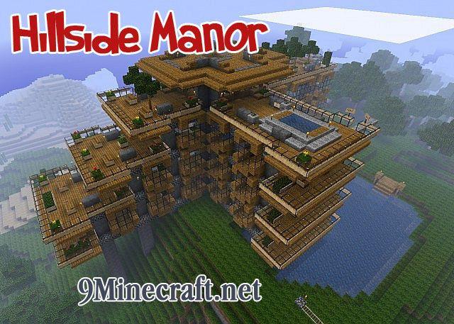 Hillside Manor Map - minecraft adventure maps : Screenshots ...