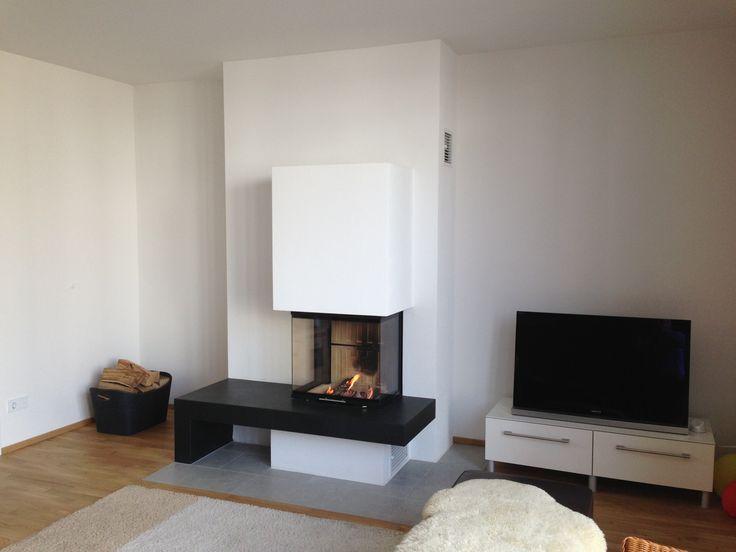 moderni kamini fireplace in the living room Pinterest Modern - kamin gemtlich