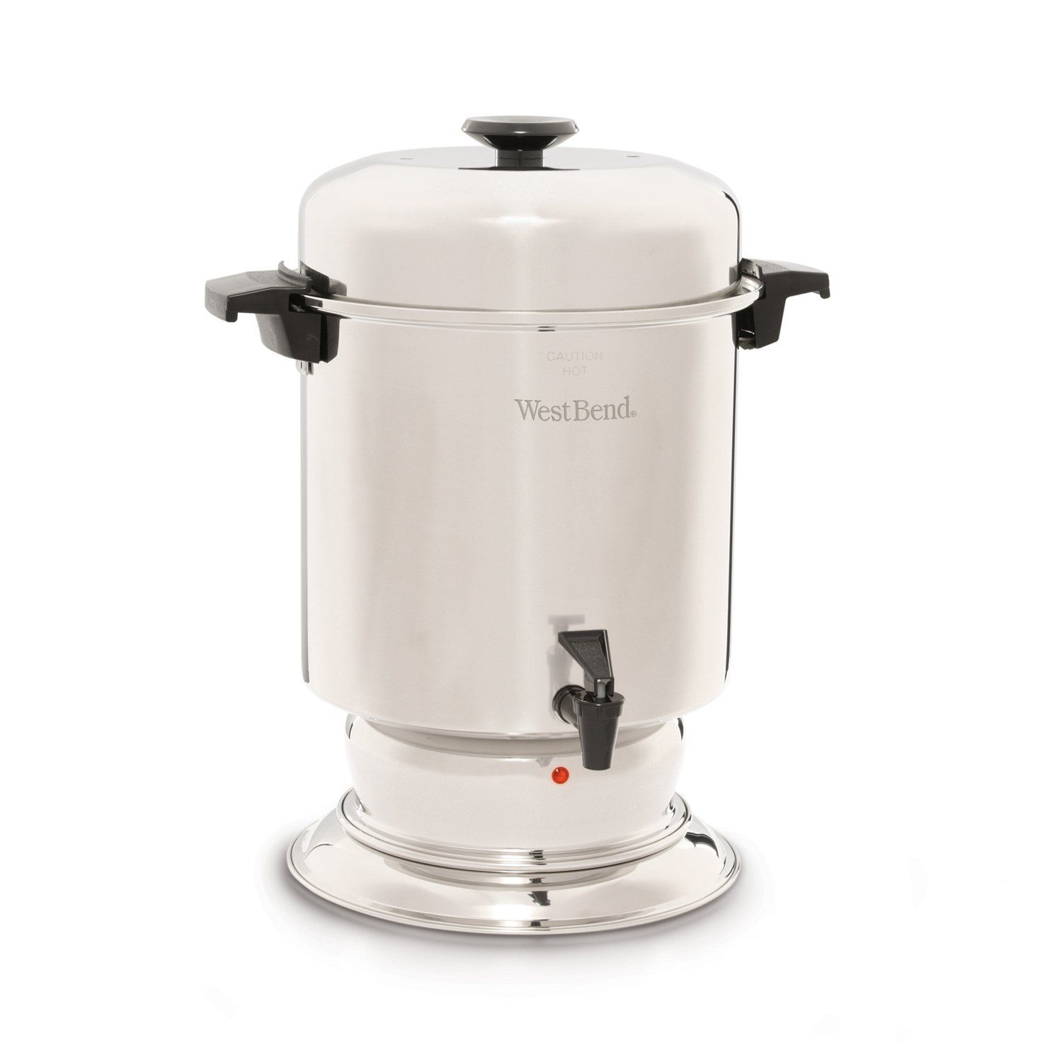 West Bend 55 Cup Commercial Stainless Steel Coffeemaker Coffee Maker Coffee Urn Coffee Making Machine