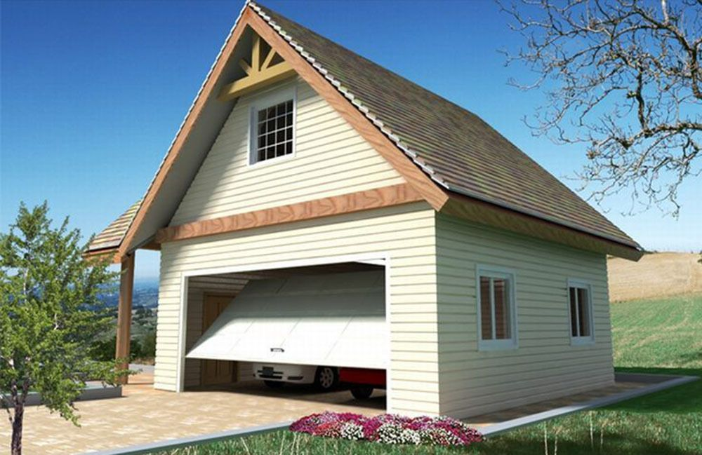 Plan 35488GH 2 Car Garage With Attic Storage House with