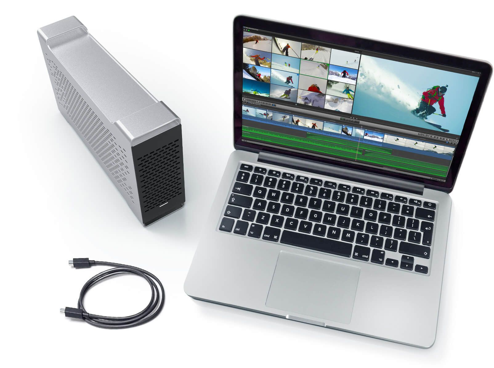 thunderbolt mac pro video card
