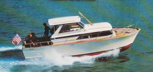 28' Trojan Sea Skiff Express  1967