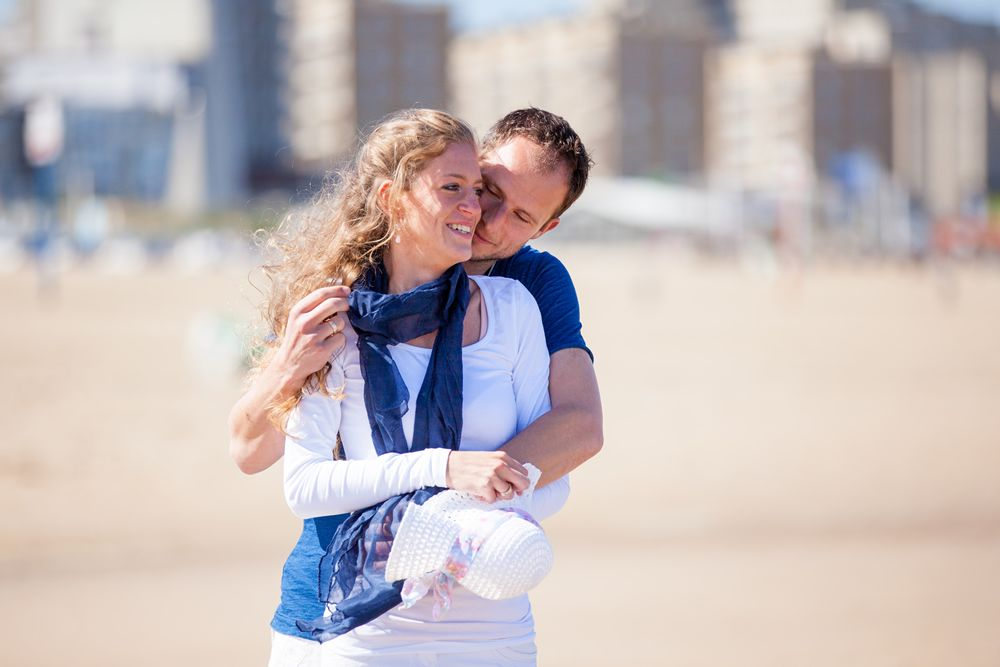 Loveshoot at the beach