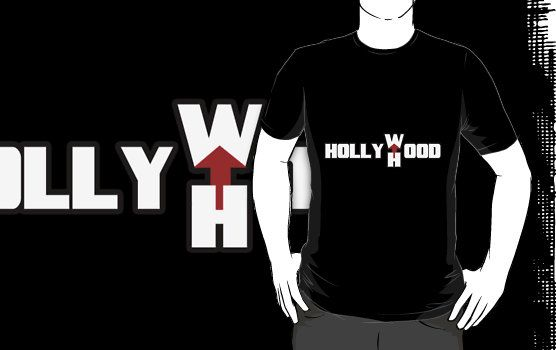 """""""Hollywhood"""" T-Shirts & Hoodies by Terronn Firven 