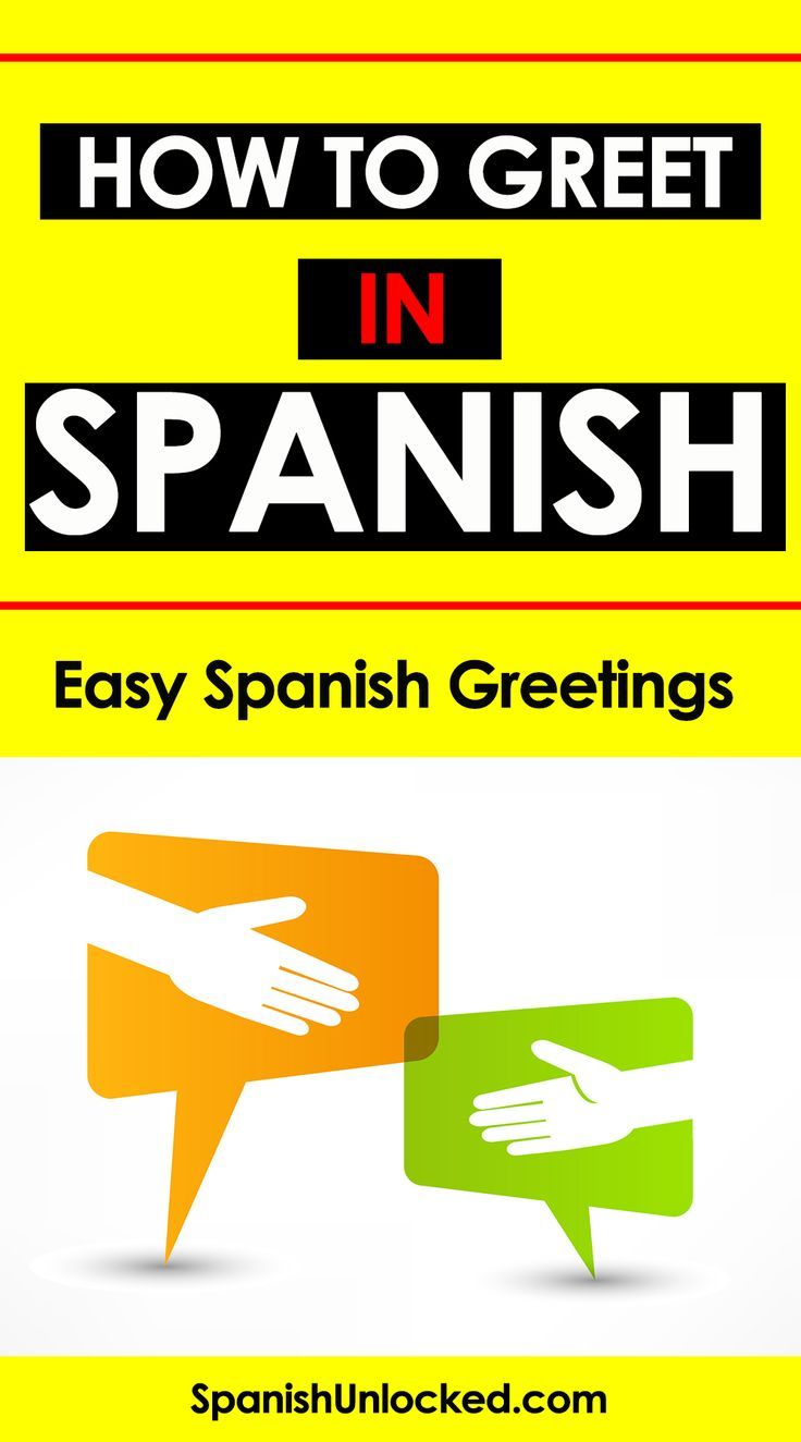 Spanish Greetings How to Say How Are You Learning