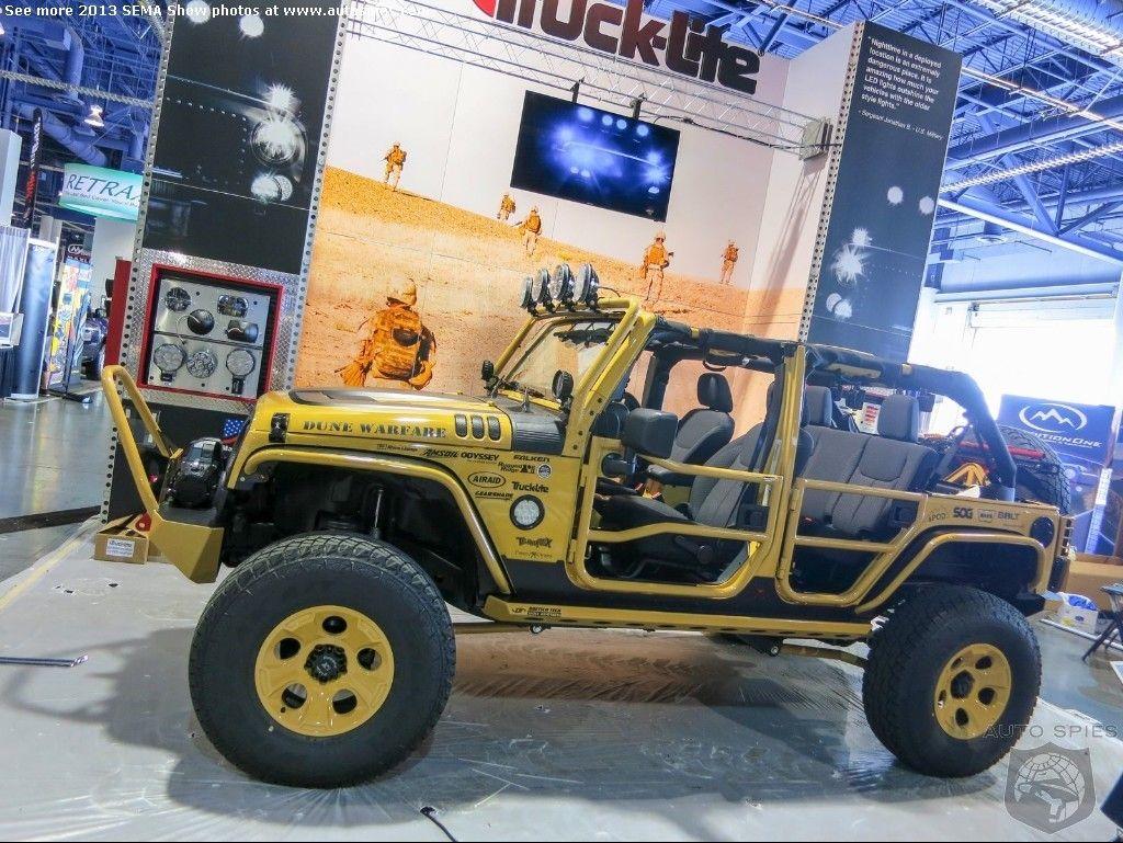 Dune Warfare Sema Jeep Jamboree Jeep Cool Stuff