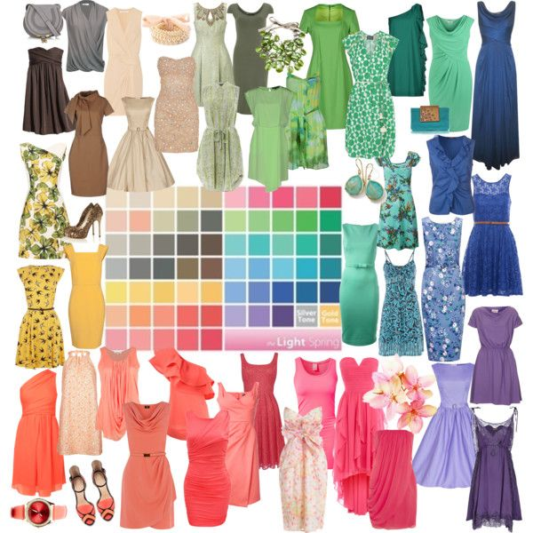 Light Spring Warm Spring Outfits Light Spring Color Palette Light Spring Colors