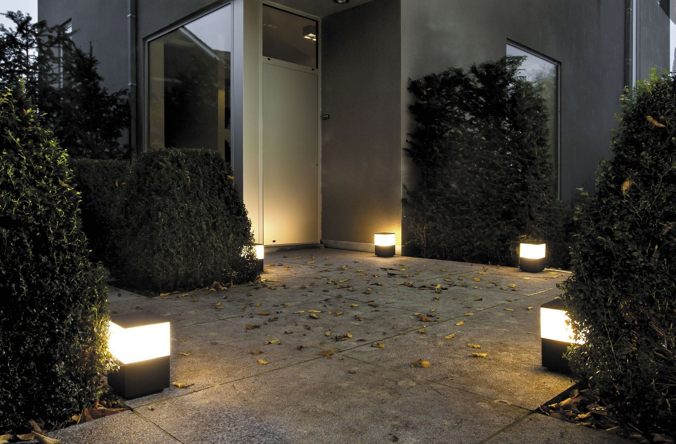 garden bollard light MENHIR BLACKOUT 150250 TAL