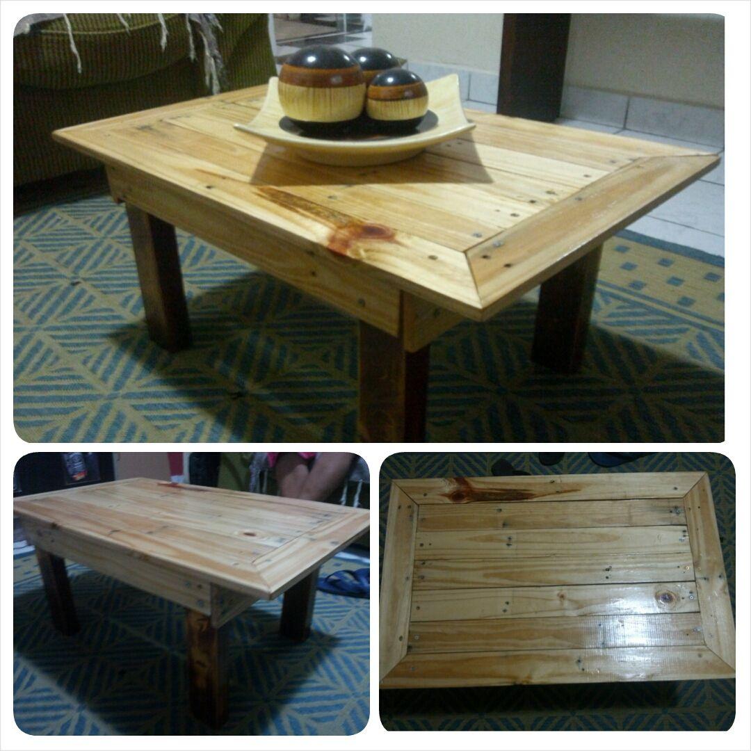 Mesa de centro #CoffeeTable, #Pallet