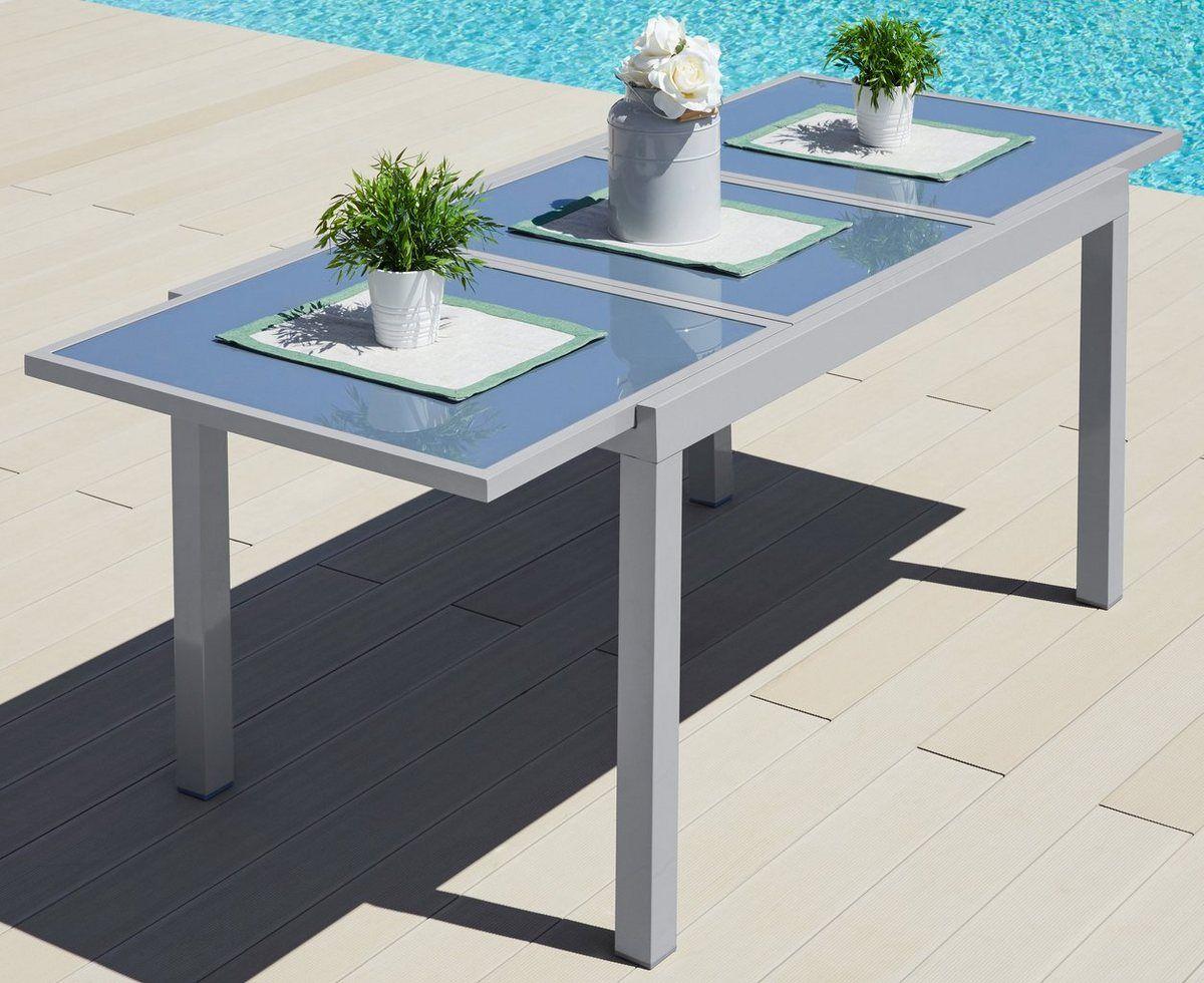 Merxx Gartentisch Amalfi Bietet Platz Fur Bis Zu 8 Personen Online Kaufen Otto Gartentisch Terrassenwand Gartentisch Mit Stuhlen