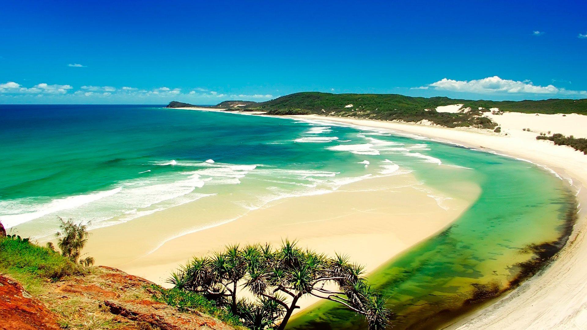 Похожее изображение   Seas & Oceans   Обои с пляжем, Пляж ...