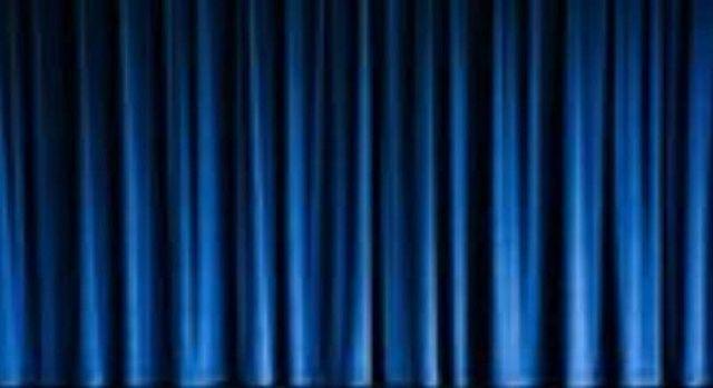 Blue Stage Curtains | Stage curtains, Curtains, Blue curtains