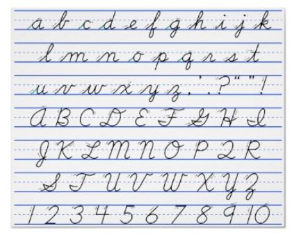 Alphabet Artwork | Cursive letters, Word fonts and Alphabet soup