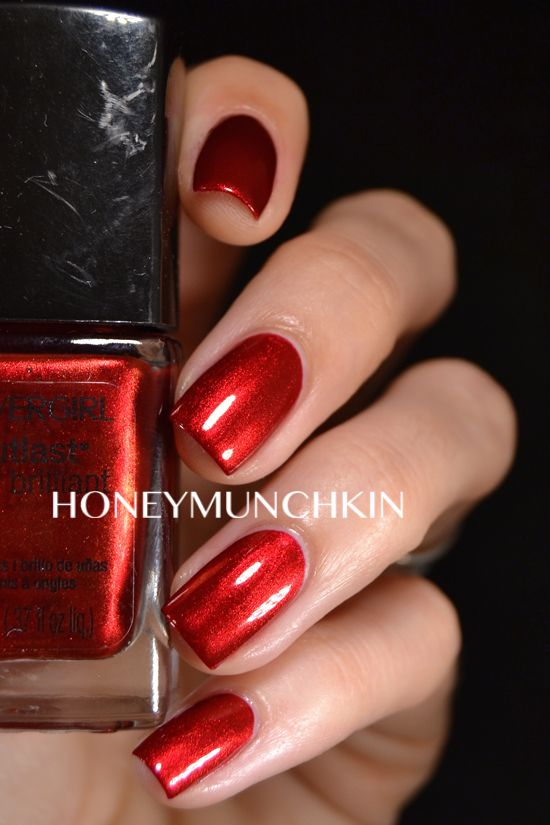 Swatch of Covergirl - Forever Festive by honeymunchkin.com | Nail ...