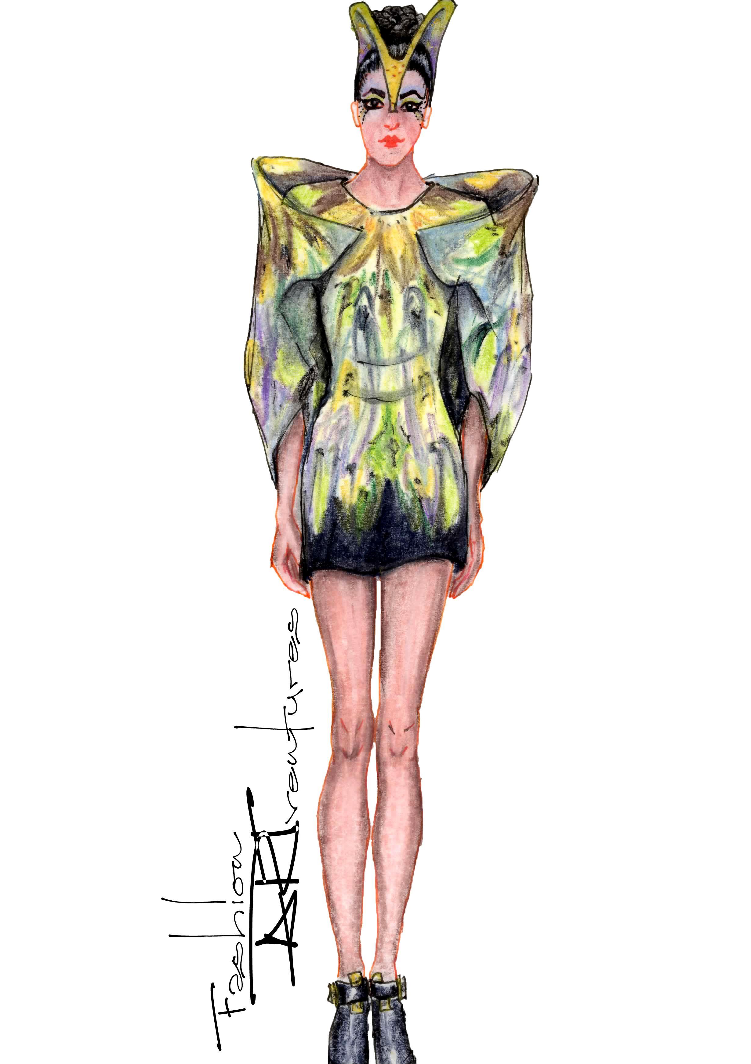 Futuristic Lady Gaga/Alexander McQueen's Plato Atlantis Tutorial