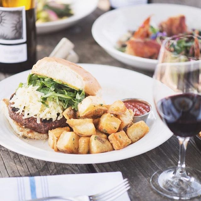 Headed up Valley for #NVFF15? Be sure to stop in to @lmrwine, your St. Helena Festival Headquarters. Pick up your passes at the Box Office, catch a film, grab a bite, take a yoga class, and more! Full details at NVFF.ORG # # #burgerporn #yoga