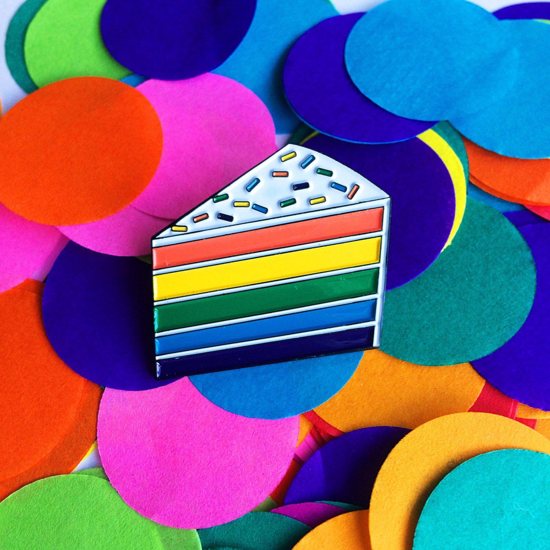 Pin Rainbow flag - QX Shop