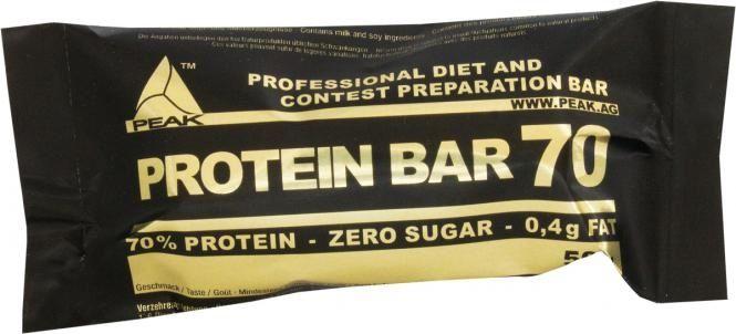 Eiweißriegel Test Peak Protein Bar 70