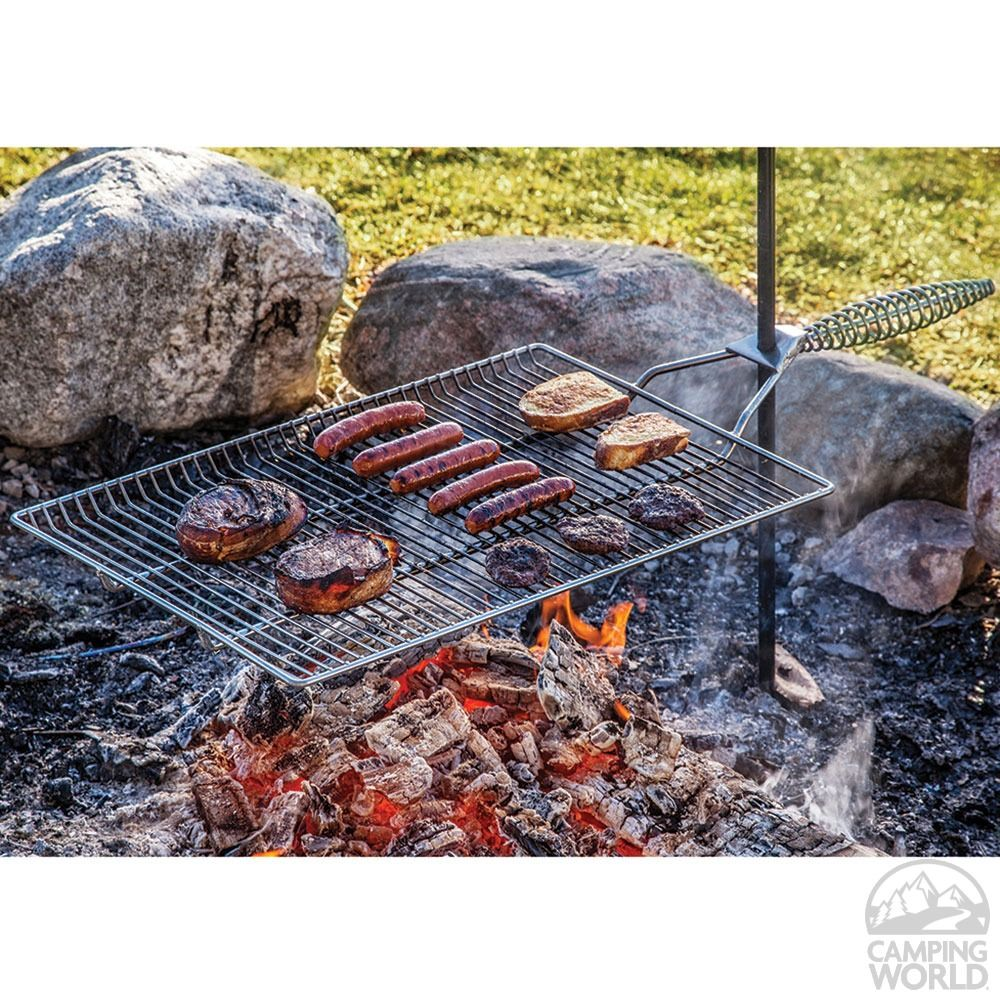 Phenomenal Stromberg Carlson Open Fire Stake Grill Camping Home Interior And Landscaping Spoatsignezvosmurscom