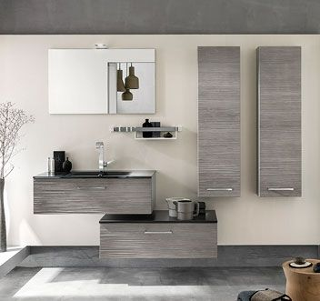 meubles de salle de bains Delpha collection Unique modèle bois 90 cm ... 5a8622ff2442