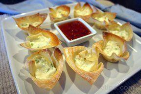 crab rangoon baked Recipe
