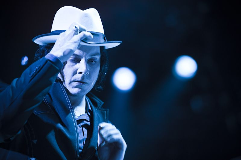 Jack White Roskilde 2012. Just look at him, always the dapper genius!
