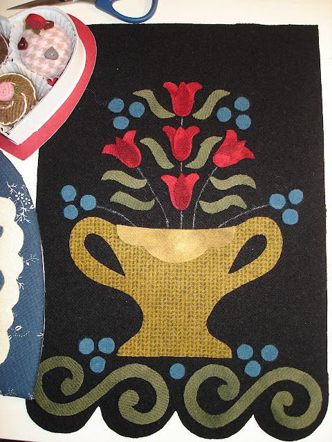 The Wooden Acorn Stitching Project