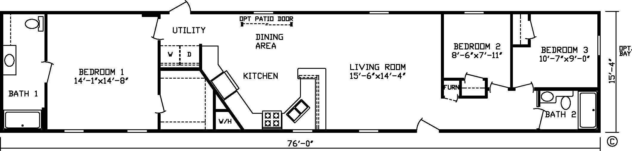 16 x 80 mobile home floor plans floor plans pinterest tiny 16 x 80 mobile home floor plans floor plans pinterest tiny houses and house