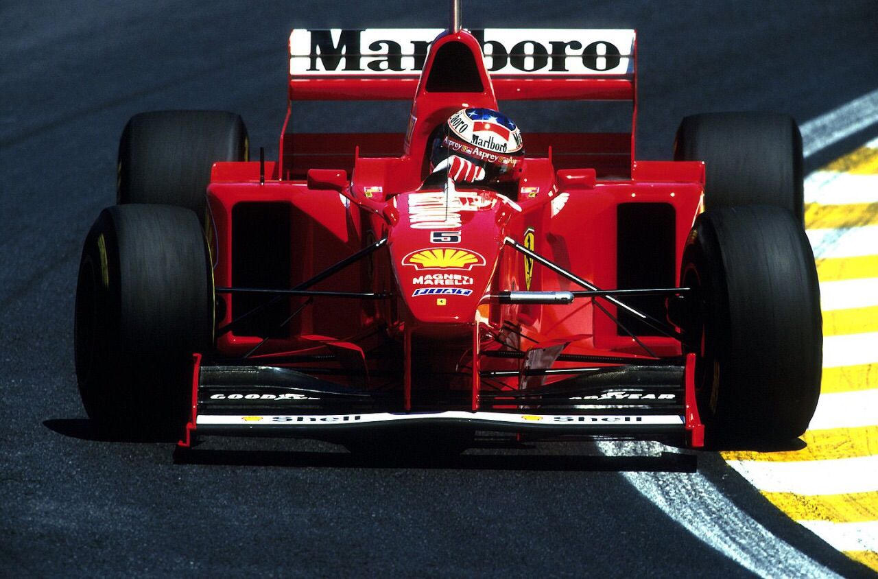 Michael Schumacher - Ferrari F310B - 1997 - Brazilian GP