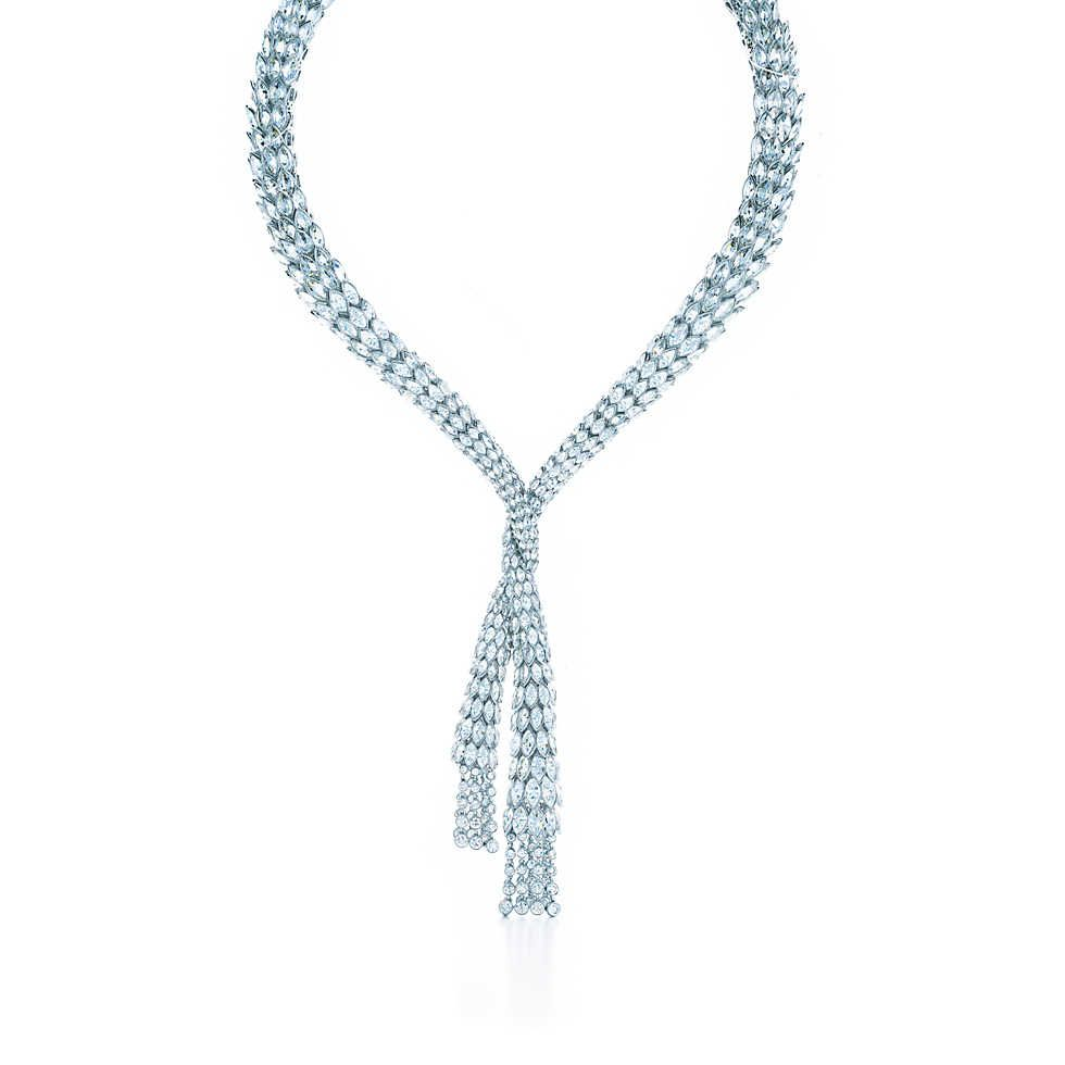 Diamond drape necklace jewels u bijoux pinterest tiffany