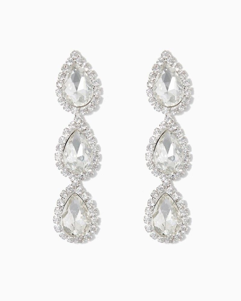 charming charlie Gorgeous Gala Earrings UPC 400000005157
