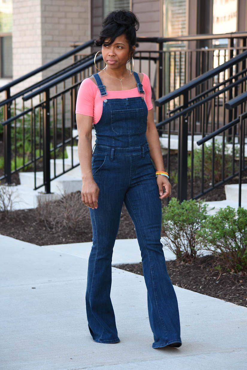2bcea9404a5a FLARE OVERALLS + CASH! in 2019