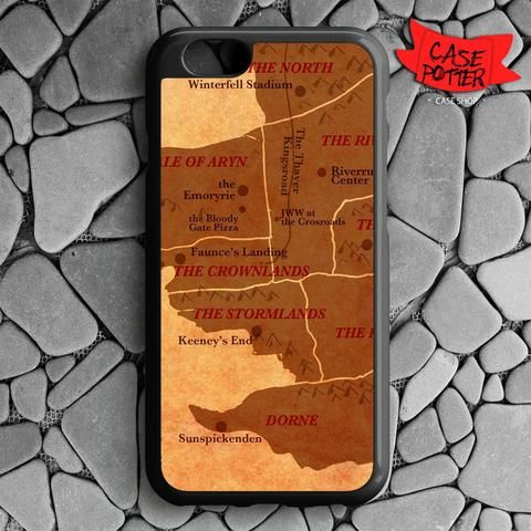 World map game of thrones iphone 6 iphone 6s black case casepotter world map game of thrones iphone 6 iphone 6s black case gumiabroncs Choice Image