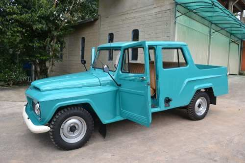Jeep Willys Ford F75 Cabine Dupla 3 Portas Modelo Rarissimo Jeep Willys Carros E Caminhoes Jeep