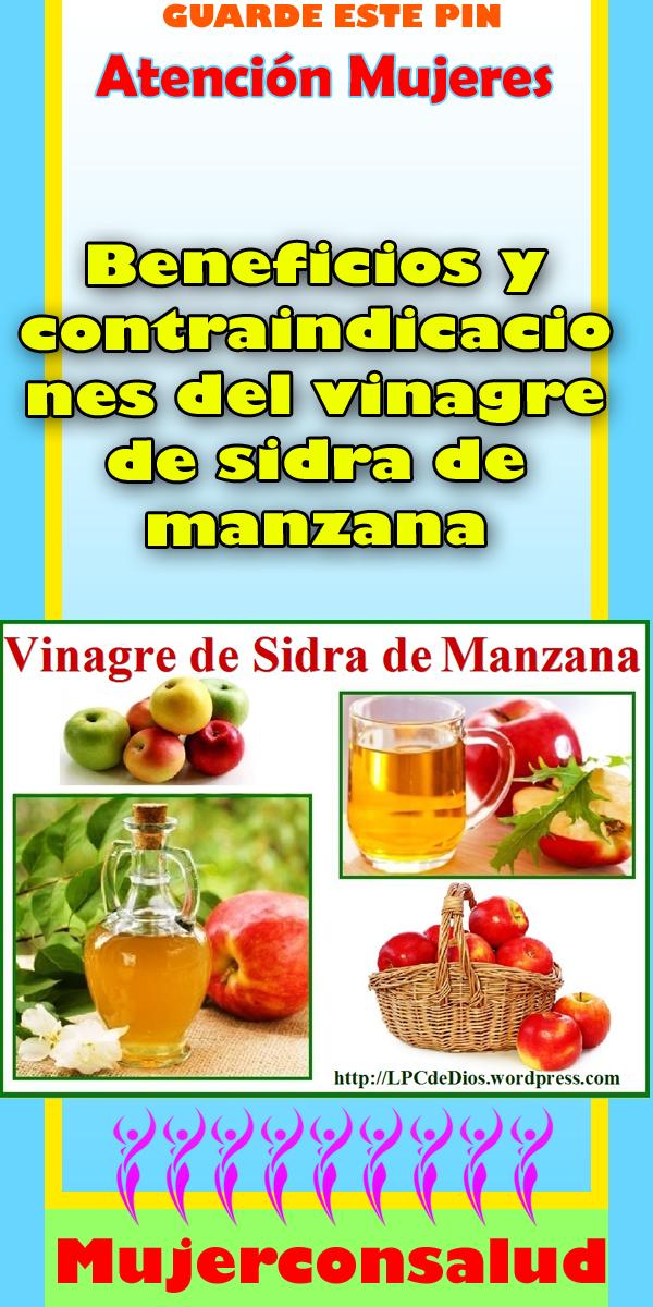 vinagre de sidra de manzana contraindicaciones