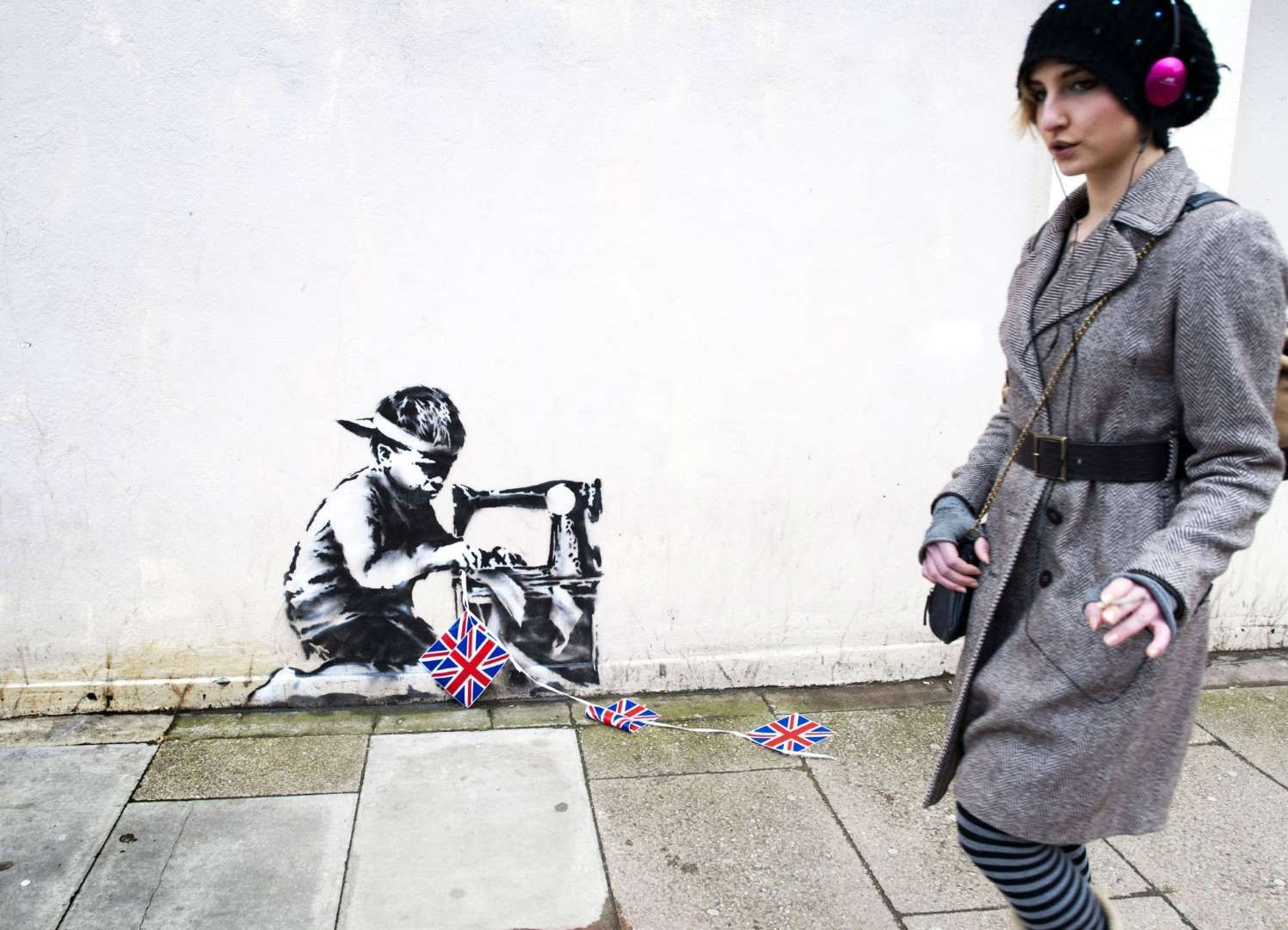 Banksy - Gavin Rodgers/Rex Features