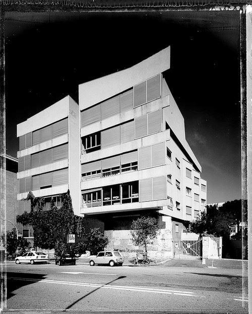 viviendas il girasole 1947 1950 roma luigi moretti stuff pinterest architektur. Black Bedroom Furniture Sets. Home Design Ideas
