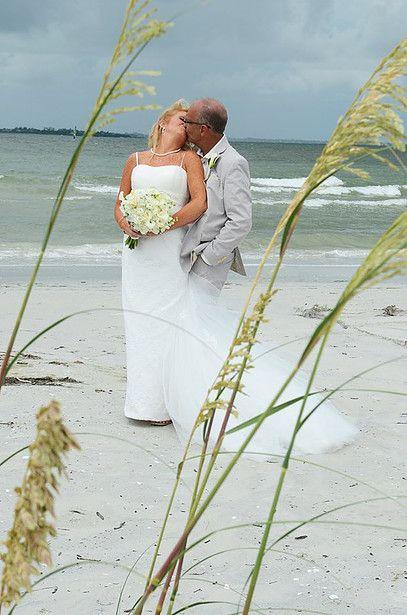Ft Myers Beach Wedding Elopement Vow Renewal Sea Oats Bride