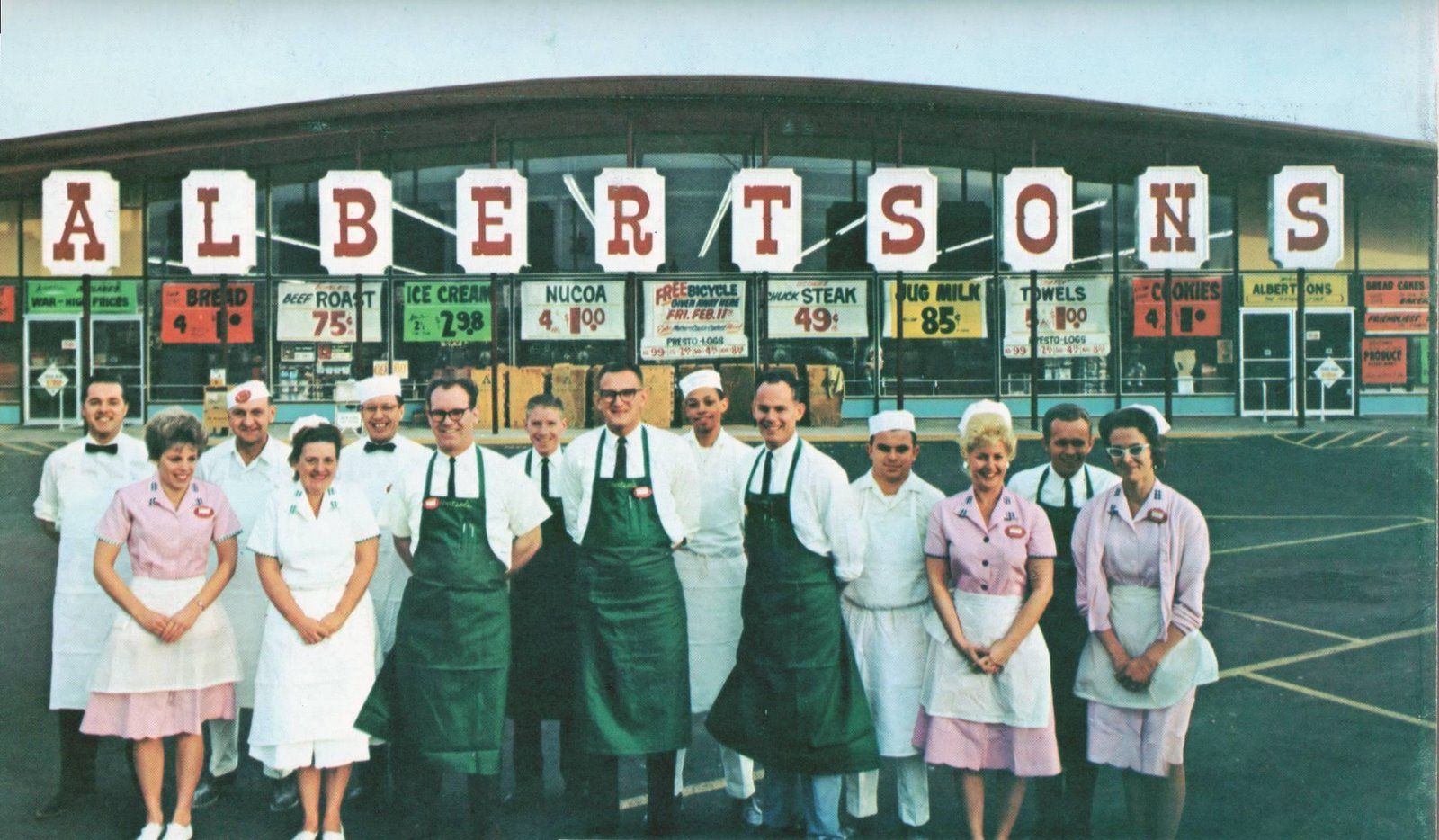 Albertsons - location unknown - 1966