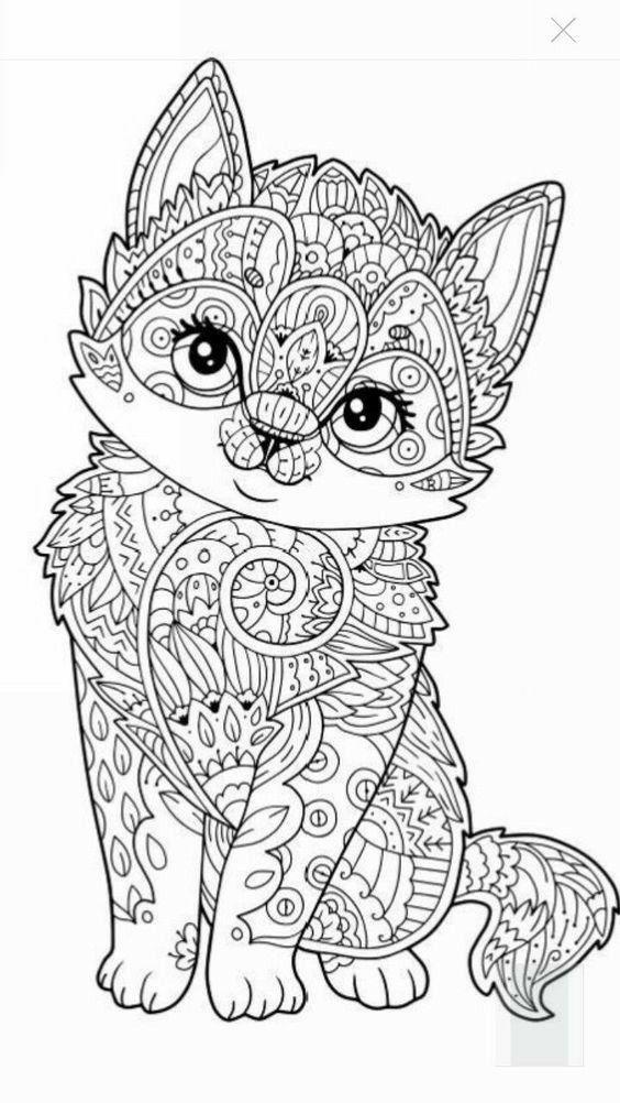 Resultado de imagen para mandala gato | tareas | Pinterest ...
