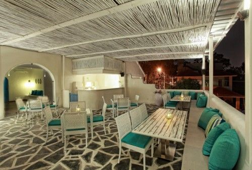 Mediterranean Restaurant Interior Style Design Idea Restaurant