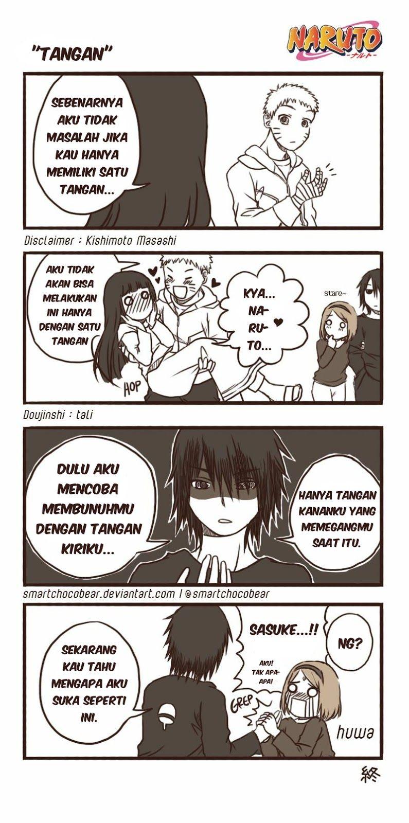 Kumpulan Komik Lucu & Kocak Naruto