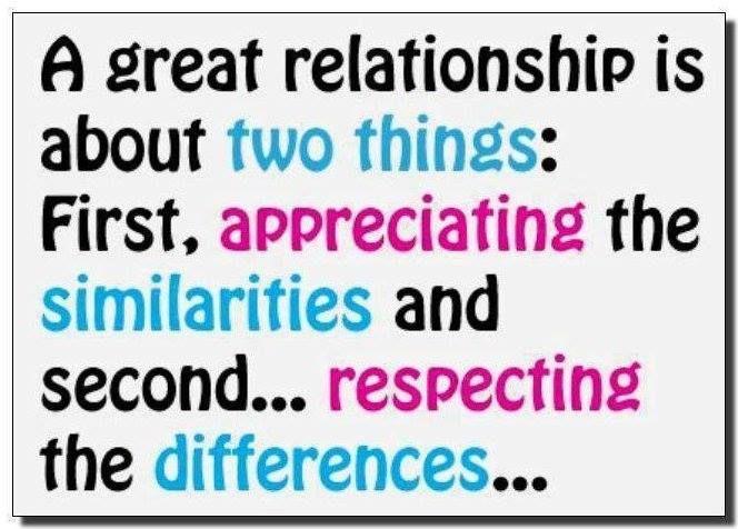 Characteristics of a good relationship